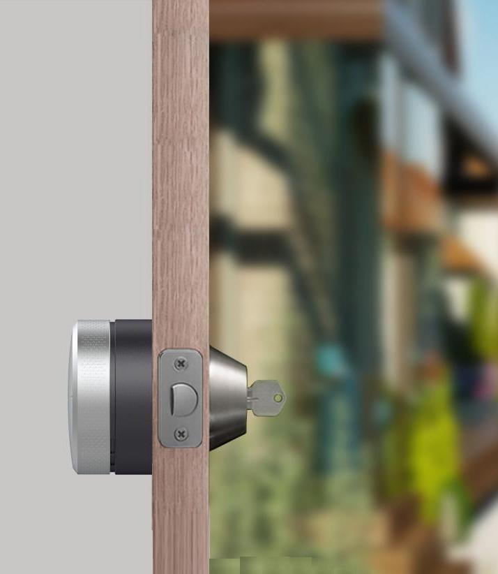 cerradura inteligente invisible automática millave